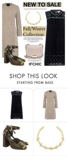 """New to sale: Fall/Winter Collection"" by ifchic ❤ liked on Polyvore featuring Sea, New York, Theory, SUNO New York, Fallon, ZAC Zac Posen and contemporary"