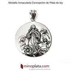 Feliz Semana a tod@s! La comenzamos con esta preciosa #medalla de #Plata de ley con la Inmaculada Concepción. Su precio: 4995  Más detalles: http://ift.tt/2gb0ClA  Un #colgante muy robusto que podréis combinar con Cordones de Plata o con Cordones de Piel para darle un toque más actual.  #jewelry #jewels #jewel #fashion #gemstone #bling #trendy #accessories #love #crystals #beautiful #style #fashionista #accessory #instajewelry #stylish #cute #jewelrygram #joyeríademoda #minoplata #plata…