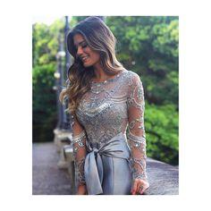 "119 Me gusta, 6 comentarios - MAISON D. por CAROL DEGANI (@maisondegani.rp) en Instagram: ""Time to shine ✨ @arianecanovas dress #PatriciaBonaldi #MaisonD #vestidos #vestidosdefesta"""