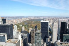 View from Rockefeller Center NYC