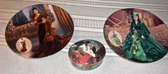 Gone with the Wind Collectors plate and Music box