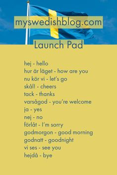 Learning Languages Tips, Love Languages, Learn Swedish, Swedish Language, About Sweden, Swedish Christmas, Norway Travel, Royal Caribbean Cruise, London Pubs