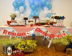 Cute cute pic nic party for Helena's 6th Birthday Pic Nic fofura para o aniversário de 6 anos da Helena