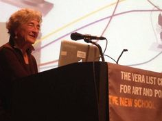 A packed house receivedLucy Lippard for a wry lecture about her life as an arts writer at the New School on Wednesday, October 30. Staff fr...