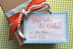 Teacher Appreciation Ideas - Over 30 Teacher Gift Ideas - Bites From Other Blogs - Love From The Oven