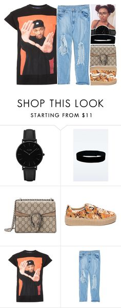 """""""•"""" by abigail-petion ❤ liked on Polyvore featuring CLUSE, Urban Renewal, Gucci, Puma and Topman"""