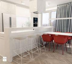 Apartament w stylu New York - Jadalnia, styl nowoczesny - zdjęcie od ROOM STUDIO