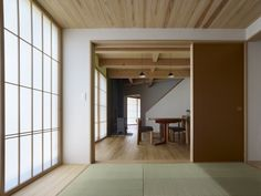 Traditional Japanese Room with Tatami mats in Yatsugatake Villa in Hokuto-Cotu, Japan by MDS Architects, Photo by Toshiyuki Yano | Remodelista