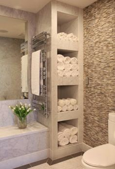master bathroom design with towel warmer - Yahoo Image Search Results