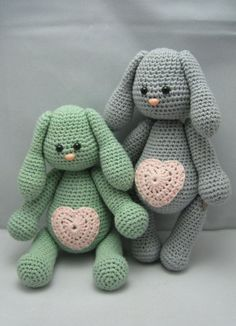 Sweet Bunny Instant download Amigurumi doll crochet by NenneDesign