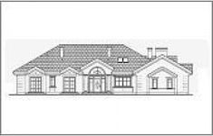 Projekt domu Rezydencja Parkowa - 258,96 m2 - koszt budowy 374 tys. zł My House Plans, Home Fashion, Multi Story Building, Exterior, Bungalows, House Styles, Craftsman Bungalows, Outdoor Spaces, Bungalow