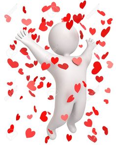 Conqueror Of Hearts, Win The Heart Of, 3d Render Stock Photo, Picture And Royalty Free Image. Pic 13923782.