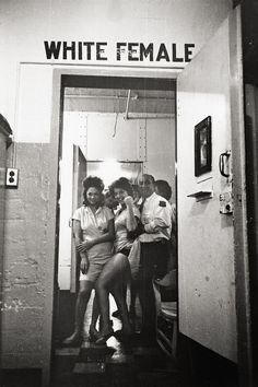 holdthisphoto:    Women's Prison, New Orleans, 1963  by Leonard Freed