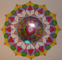 CD Mandalas = Radial designs