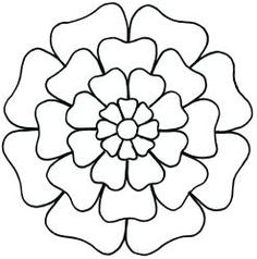 Stencil - - Oriental Blossom - Quilting stencils are created from thin, flexible plastic and come in a variety of sizes depending on the design. The design cut into the stencil can be tra Stained Glass Patterns, Mosaic Patterns, Embroidery Patterns, Quilt Patterns, Flower Patterns, Mandala Art, Mandala Drawing, Quilting Stencils, Quilting Designs