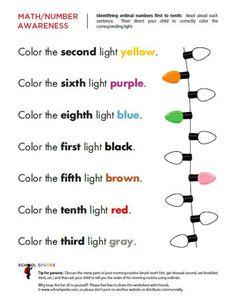 Advanced Math Preschool Lesson Plan