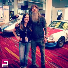 #CPlady @ceramicpro_jenn with legendary #MagnusWalker at #SEMA 2016 | by CeramicPro #ceramicpro #ceramicprolifestyle #lifestyle #nanoceramic #paintprotection #nanocoating #paintcoating #ceramiccoating #detailing #usa #cppeople