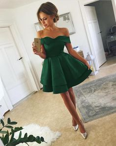 Green-Homecoming-Dresses