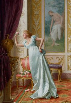 The Attraction Painting by Vittorio Reggianini