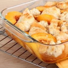Cobbler recipes are some of the easiest dessert recipes out there, and this Easy Southern Peach Cobbler recipe is no exception. This is the perfect dessert recipe for parties, potlucks, and church suppers because it is easy, tasty, and can feed a crowd.