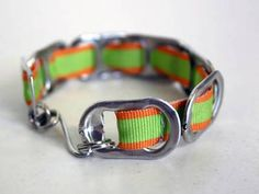 How to make a pop tab bracelet. Bracelets From Soda Can Tabs - Step 2