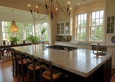 Home Farm 1 - traditional - kitchen - charleston - by Alix Bragg Interior Design