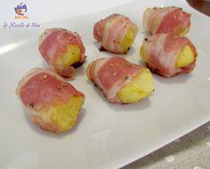 un contorno o uno sfizioso finger food  PATATE NOVELLE CON PANCETTA  #lericettedibea #gialloblogs  http://blog.giallozafferano.it/lericettedibea/patate-novelle-e-pancetta/