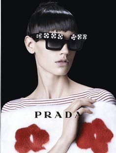 bca8114fa85 Prada Spring Summer 2013 Campaign Prada Sunglasses