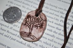Unique tree pendant by rsanasac on Etsy, $7.00