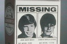 The first child to appear on a milk carton is still missing - Fullact Trending Stories With The Laugh Mixture Horror Themes, Missing Child, David, Sad Stories, Johnny Was, White Man, The One, Party Themes, Milk