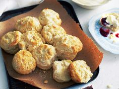 The use of lemonade in these beautiful scones means you no longer have to spend time rubbing butter and flour together!