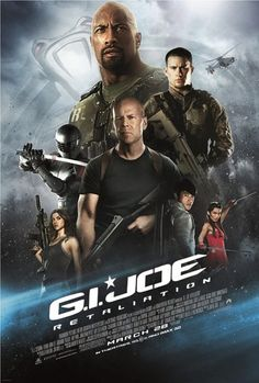GI Joe Retaliation - Dwayne Johnson, Bruce Willis, and Channing Tatum are getting good at this good guy solider saving the world thing. All Movies, Action Movies, Movies Online, Watch Movies, Movies Free, Hindi Movies, Amazing Movies, Movies 2019, Telugu Movies