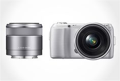 The new NEX-C3, has the same image sensor APS-C of its predecessor, increasing the sensor resolution to 16.2 MP. The NEX-C3 will be sold with lenses of 18-55 mm or 16 mm, in black, pink and silver. $649.99