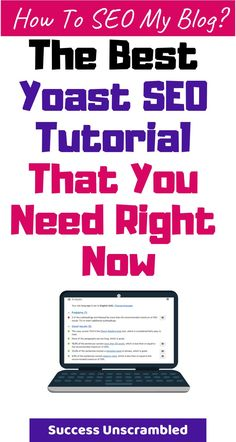 This can be the last WordPress Yoast SEO tutorial you'll ever need. In this tutorial, we cover the install, activation and configuration of the plugin. Seo Analysis, Website Analysis, Seo Marketing, Content Marketing, Digital Marketing, Seo Tutorial, Seo For Beginners, Drop Shipping Business, Seo Strategy