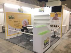 Exhibition Booth | Baby Expo | Mimos Exhibition Booth, Filing Cabinet, Desk, Flooring, Seasons, Pillows, Storage, Baby, Furniture