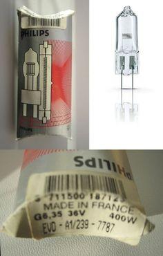 Made in France Philips Projektionslampe 7787 Halogenlampe Niedervolt Coding, France, How To Make, Ebay, Programming, French