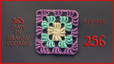 365 Days of Granny Squares Number 256