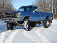 (Bumper, Paint, Wheels and Tires) Show your lifted 1st gen. trucks. - Page 4 - Dodge Cummins Diesel Forum