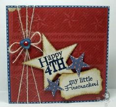 My Little Firecracker Stamp Set