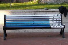 pantone bench