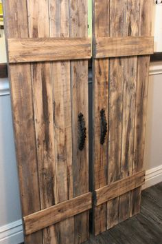 Wood Shutters Set Rustic Barn Door By SouthernPlankCrafts On Etsy