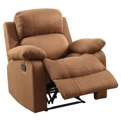 Accent Chairs Acme Furniture Chocolate (Brown)