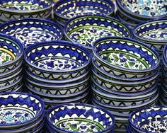 I have similar pottery, I use them when I entertain and enjoy everyday to add my mix nuts or dips -   Armenian pottery