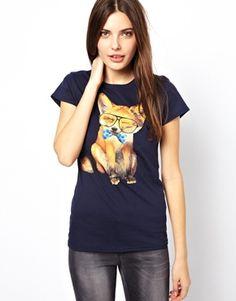 Image 1 ofGoodie Two Sleeves Foxy Nerd T-Shirt