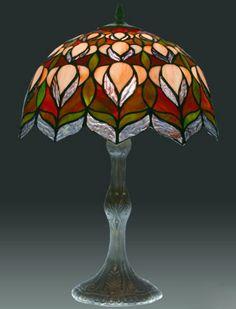 tiffany lamp.