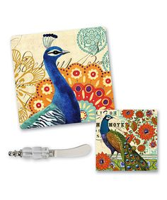 Loving this Proud Peacock Party Set on #zulily! #zulilyfinds