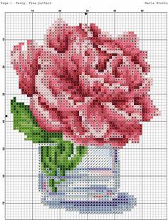 Cross Stitching, Cross Stitch Embroidery, Cross Stitch Patterns, Knitting Patterns, Sewing Patterns, Embroidery Flowers Pattern, Flower Patterns, Blue Cross, Cross Stitch Flowers