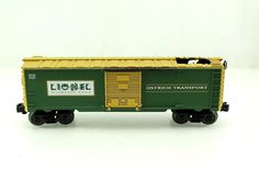 O Lionel Wildlife Park Transport Animated Ostrich Box Car 6 19864   eBay