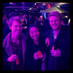 Dean aka Vowles, Kerrie & Jacob enjoying at the launch of in Dean, Sydney, Product Launch, Instagram Posts