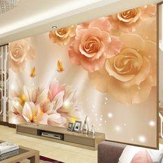 Butterfly in Love 3D Wallpaper